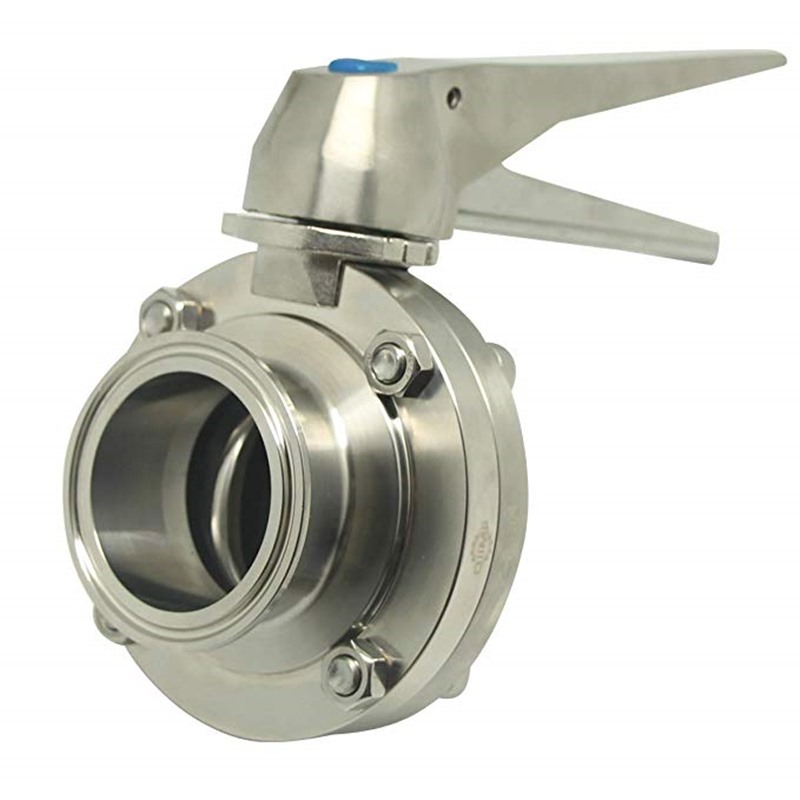 VBN Manual Butterfly Valve with SS MULTI-POSITION HANDLE QM-04