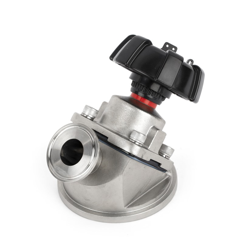 VDB Tank Bottom Diaphragm Valve